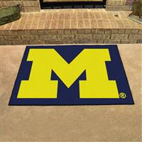 "Michigan Wolverines All-Star Rug 34""x45"""