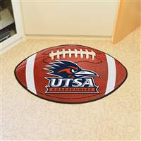 "University of Texas - San Antonio Football Mat 20.5""x32.5"""