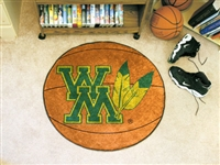 "College of William & Mary Basketball Rugs 29"" diameter"