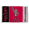 BSI Products Ohio State Buckeyes 3 Ft. X 5 Ft. Flag