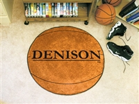 "Denison Basketball Rugs 29"" diameter"