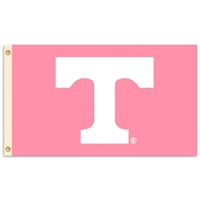 Tennessee Volunteers 3 Ft. X 5 Ft. Flag W/Grommets - Pink Design