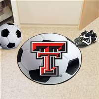 "Texas Tech University Soccer Ball Mat 27"" diameter"