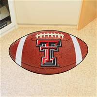 "Texas Tech Red Raiders Football Rug 22""x35"""