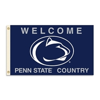 BSI Products Penn State Nittany Lions 3 Ft. X 5 Ft. Flag With Grommets - Country