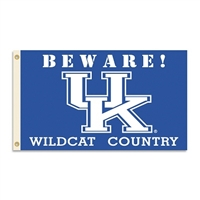 Kentucky Wildcats 3 Ft. X 5 Ft. Flag W/Grommets - Country