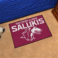"Southern Illinois University Starter Mat 19""x30"""