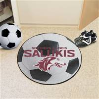 "Southern Illinois University Soccer Ball Mat 27"" diameter"
