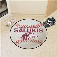 "Southern Illinois University Baseball Mat 27"" diameter"