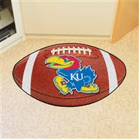 "Kansas Jayhawks Football Rug 22""x35"""