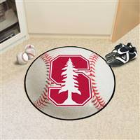 "Stanford University Baseball Mat 27"" diameter"
