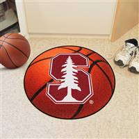 "Stanford University Basketball Mat 27"" diameter"