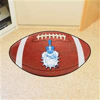 "The Citadel Bulldogs Football Rug 22""x35"""