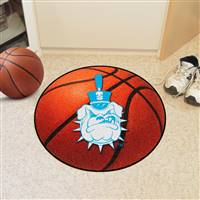 "The Citadel Bulldogs Basketball Rug 29"" diameter"