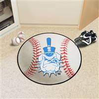 "The Citadel Bulldogs Baseball Rug 29"" diameter"