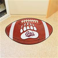 "Montana Grizzlies Football Rug 22""x35"""