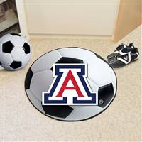 "University of Arizona Soccer Ball Mat 27"" diameter"