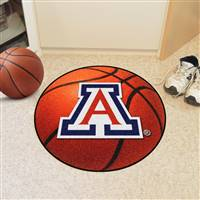 "Arizona Wildcats Basketball Rug 29"" Diameter"