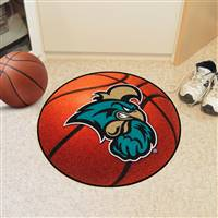 "Coastal Carolina University Basketball Mat 27"" diameter"