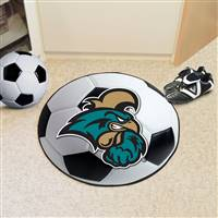 "Coastal Carolina University Soccer Ball Mat 27"" diameter"
