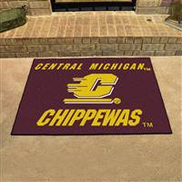 "Central Michigan University All-Star Mat 33.75""x42.5"""