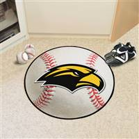 "Southern Mississippi Golden Eagles Baseball Rug 29"" Diameter"