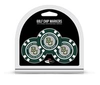 Baylor Bears Golf Chip with Marker 3 Pack - Special Order