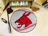 "Central Missouri Baseball Rugs 29"" diameter"