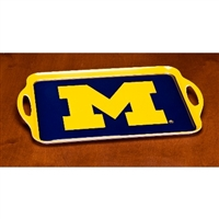 Michigan Wolverines Melamine Serving Tray