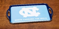 North Carolina Tar Heels Melamine Serving Tray
