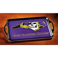 East Carolina Pirates Melamine Serving Tray