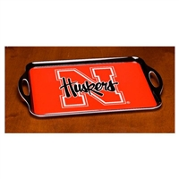 Nebraska Cornhuskers Melamine Serving Tray