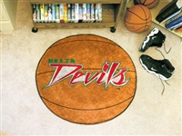 "Mississippi Valley State University Basketball Rug, 29"" Diameter"