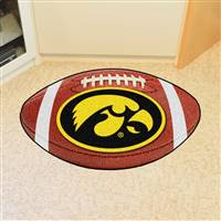 "University of Iowa Football Mat 20.5""x32.5"""