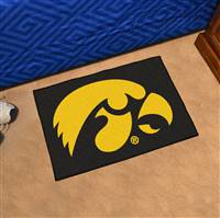 "University of Iowa Starter Mat 19""x30"""
