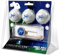Creighton Blue Jays 3 Ball Gift Pack w/ Cap Tool