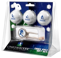 Duke Blue Devils 3 Ball Gift Pack w/ Cap Tool