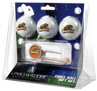 Oregon State Beavers 3 Ball Gift Pack w/ Cap Tool