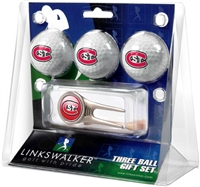 St. Cloud State Huskies Ball Gift Pack w/ Cap Tool