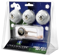 Wake Forest Demon Deacons 3 Ball Gift Pack w/ Cap Tool