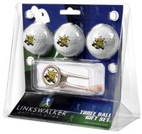 Wichita State Shockers 3 Ball Gift Pack w/ Cap Tool