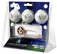 Youngstown Penguins 3 Ball Gift Pack w/ Cap Tool