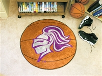 "Holy Cross Basketball Rugs 29"" diameter"