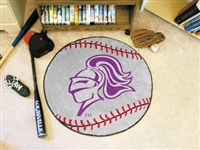 "Holy Cross Baseball Rugs 29"" diameter"