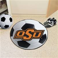"Oklahoma State University Soccer Ball Mat 27"" diameter"