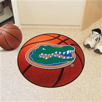 "Florida Gators Basketball Rug 29"" Diameter"