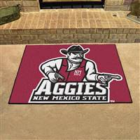 "New Mexico State (NMSU) Aggies All-Star Rug 34""x45"""