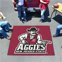"New Mexico State (NMSU) Aggies Tailgater Rug 60""x72"""