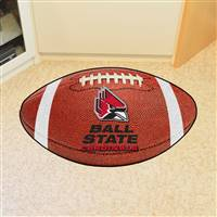 "Ball State Cardinals Football Rug 22""x35"""