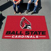"Ball State Cardinals Tailgating Ulti-Mat 60""x96"""